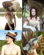 Universal Oval Brimmed Hat; Edwardian Boater, Titanic Hat & Modern Sun Hat Pattern