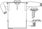 Man's Shirt 1750-1800. English Style Pattern