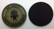 No Mercy Kinetic Working Group PVC IFF hook and loop Morale Patch