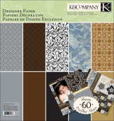 Sheer Simplicity 12x12 Designer Scrapbooking Paper Pad
