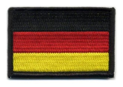 Matrix hook and loop Germany Flag Patch