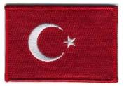 Matrix hook and loop Turkey Flag Patch