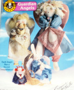 OOP Suzanne McNeill Crafts Pattern 2214. 13cm - 46cm Cloth Dolls. Each Guardian Angel Doll Has A Secret Compartment