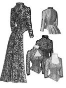 1883 Tailed Victorian Bodice Pattern