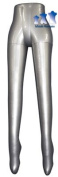 Inflatable Mannequin, Female Leg Form, Silver