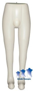 Inflatable Mannequin, Male Leg Form, Ivory
