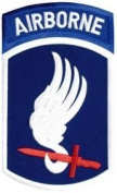 82nd Airborne Division Back Patch