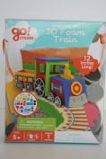 Go! Create 3d Foam Train