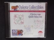 Dakota Collectibles Christmas Quilt Stitches