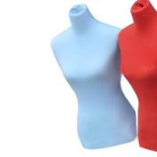 Female Mannequin Dress Form Material Cover - Sky Blue