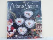 HEART ORNAMENTS KIT, CHRISTMAS TRADITION