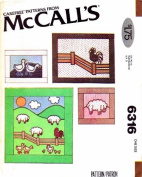 McCall's Pattern 6316 ~ Country Theme Quilt, Wallhangings or Pillows