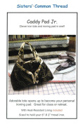 Caddy Pad Jr. Iron Tote & Ironing Pad in One Pattern, with Heat-Resistant Lining Included