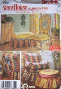 Simplicity Pattern 5081 Show House Slipcovers English Cottage and French Country