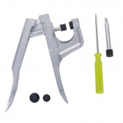 Snap Fastener Pliers Press Stud Setter Sewing Craft Tool Kit