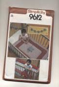 Vintage Simplicity 9612 Infant Quilt, Elephants, Bumpers, Nappy Bag Sewing Pattern