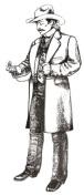 Gentleman's Frock Coat Pattern