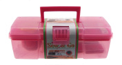 Allary Sew and Go Premium Sewing Kit in Caddy with Removable Tray, Various Colours