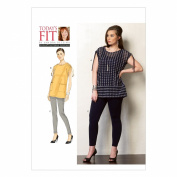 Vogue Patterns V1376 Misses' Tunic and Leggings Sewing Template, All Sizes