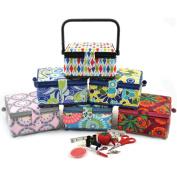 Prym Sewing Promotional Sewing Basket 7 1/2'X7 1/2'X4 3/8'