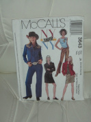 McCall's Sewing Pattern #3643 - Junior's Shirts, Top, Pants and Skirt