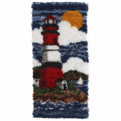 Spinrite Wonderart Latch Hook Kit, 41cm by 80cm , Lighthouse