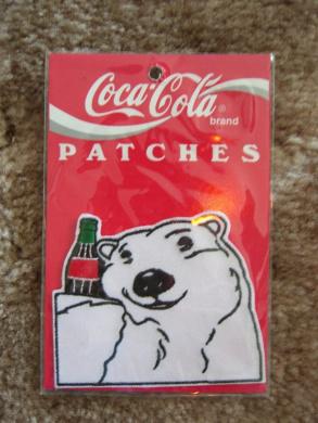Coca Cola Patch Polar Bear