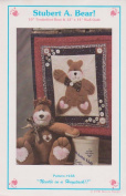 25cm Tenderfoot Bear And 30cm X 36cm Wall Quilt Bear Craft Pattern #168
