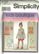 Childs Top, Shorts And Cap (Simplicity Sewing Pattern 8102, Size
