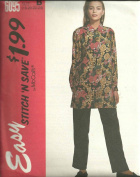 Misses Blouse And Pants Size