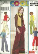 Girls Pants & Vest (Simplicity 6119, Size