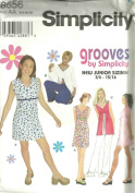 Juniors Dress Or Tunic And Knit Pants (Simplicity Sewing Pattern 8656, Size