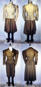 Ladies 1890's Victorian Sporting Costumes with Leggings Pattern