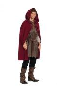 BURDA STYLE 7333 ROBIN HOOD COSTUME CAPE, SHIRT SEWING PATTERN MEN'S SIZES