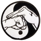 Yin & Yang with Fist - 7.6cm - 1.3cm Dia. - 10 Pack