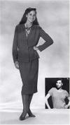 1930's Sophisticated Lady 2 Piece Suit Pattern
