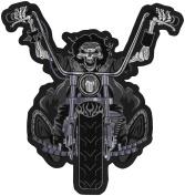 Lethal Threat Decals DEATH RIDER PATCH 11X11.5 LT30050