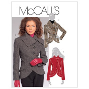 McCall's Patterns M5759 Misses' Lined Jackets and Belt, Size D5