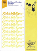 Stretch & Sew 1250 Sewing Pattern Girls One and Two Piece Swimsuits Size 2 - 7