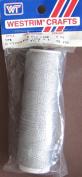 Westrim Metallic Lace (2 Ply Cord) 75 Yard Spool - Silver