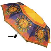 Laurel Burch Compact Umbrella 110cm Canopy Auto Open/Close-Harmony Under The Sun