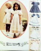 McCall's 4128 Retired Sewing Pattern/Girls' Kitty Benton Designed Dress Size 6