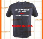 Jet-Opaque II Iron on Heat Transfer Paper/Dark Colour 25 Sheets 8.5x11