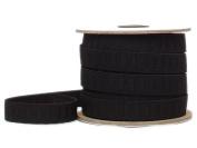 Conrad Jarvis Designer's Choice Elastic No Roll Reel Black 3/4x 20yd 20 Yards