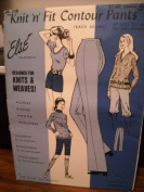 Else California # 17- Knit 'n' Fit Contour Pants (back seams)for knits & woven fabrics - pattern for long pants, knickers & shorts