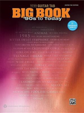 The New Guitar Tab Big Book: '90s to Today (New Guitar Tab Big Book)