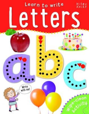Learn to Write Letters (Wipe-Clean)