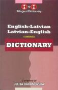 English-Latvian & Latvian-English One-to-One Dictionary