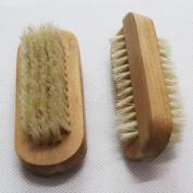 Aisilk Natural Bristle SPA Two-Sided Nail Brush