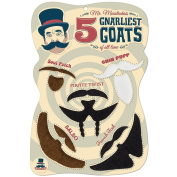 Mr. Moustachio's 5 Gnarliest Goats of All Time, Fake Goatee Costume Party Assortment